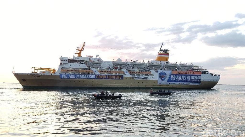 Walkot Makassar Kesal Kapal Isolasi COVID Ada Kecoak-Air Bermasalah