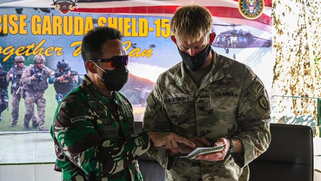 Indonesia-AS Gelar Latihan Militer Gabungan Garuda Shield Pekan Ini