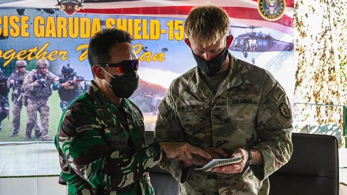 Latihan gabungan Garuda Shield yang diikuti prajurit TNI AD dan US Army (Photos courtesy of the U.S. Army)