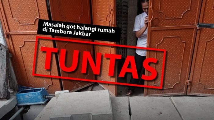 Masalah got halangi rumah di Tambora Jakbar: TUNTAS