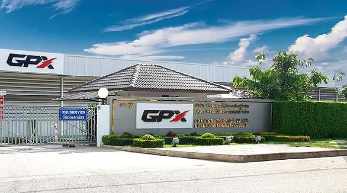 Pabrik motor GPX di Thailand