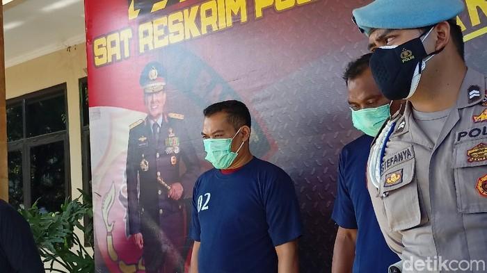 Pelaku pembobol toko di Kabupaten Bandung.
