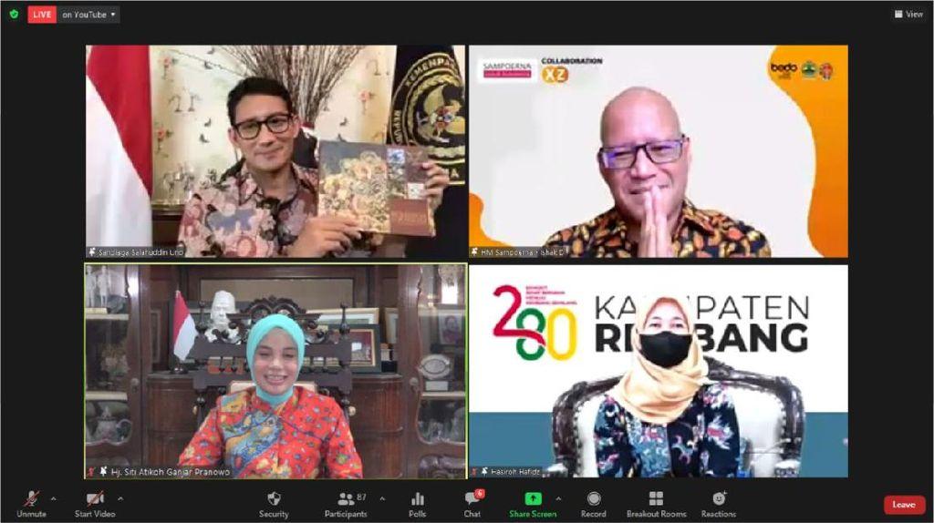Buku Batik Tulis Lasem Diluncurkan, Ini Harapan Sandiaga Uno