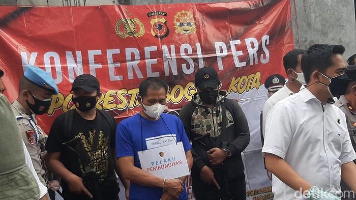Pembunuh wanita di Bogor ditangkap.