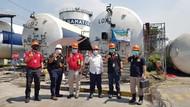 Pastikan Distribusi Oksigen, Pengawas Ketenagakerjaan Supervisi ISO Tank