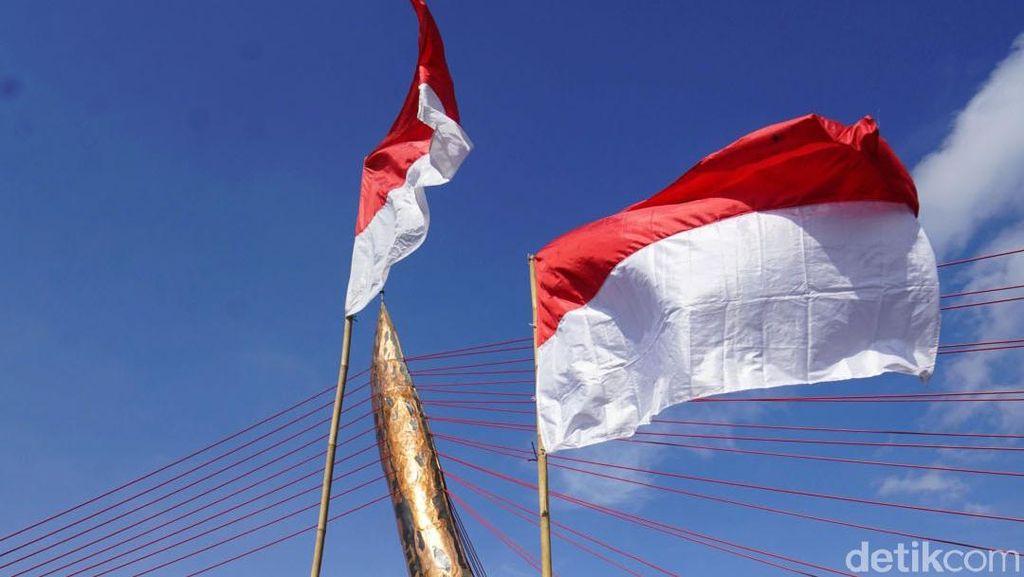 Pengibaran Bendera Indonesia Jelang HUT Ke-76 RI, Ini Aturannya