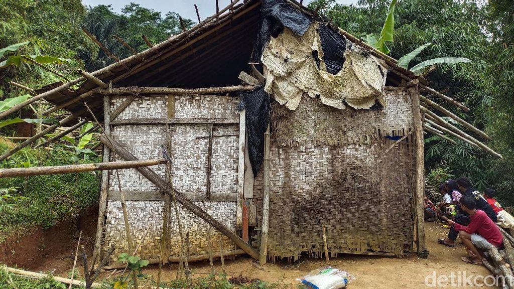 Miris! Keluarga di Cianjur Huni Gubuk Reyot-Hanya Makan Singkong