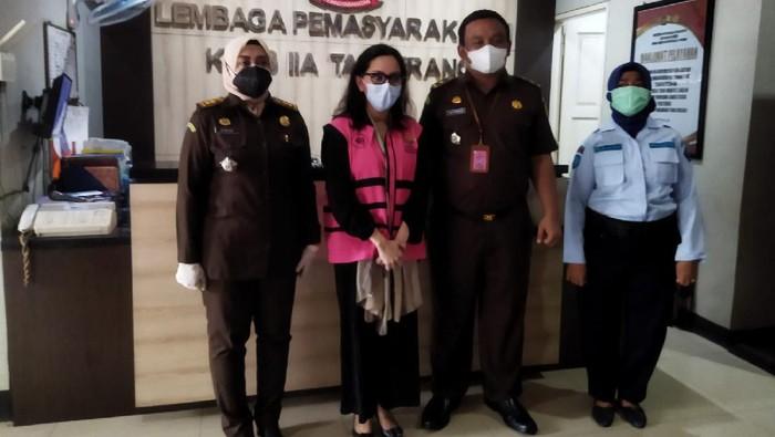 Pinangki ditahan di LP Wanita Tangerang