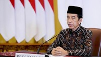 Perpanjang PPKM Level 4, Jokowi: Gas & Rem Harus Dinamis