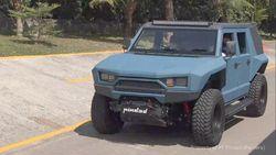 Rantis Maung Pakai Mesin Toyota Hilux, Rantis MV2 4x4 Masih Rahasia
