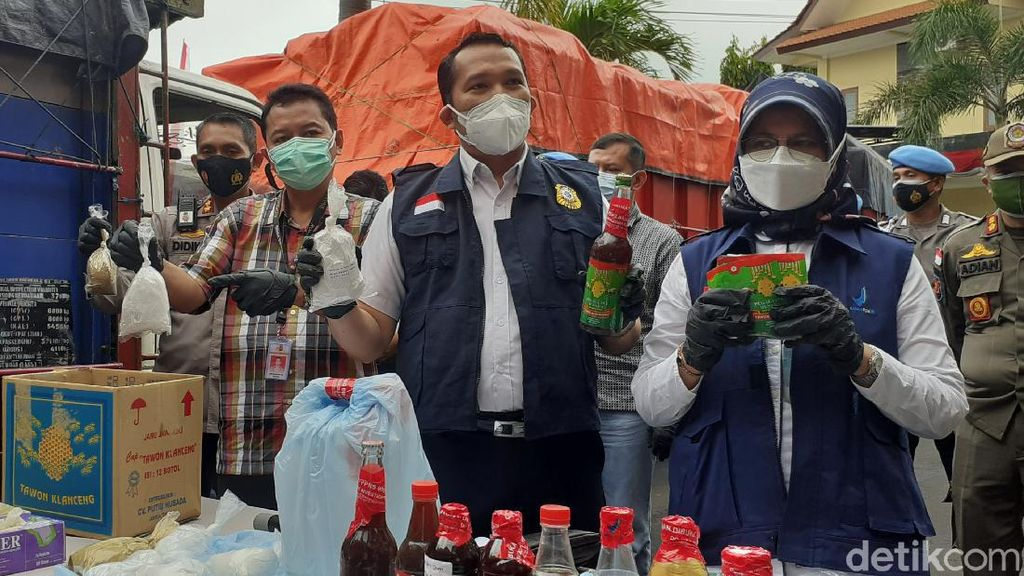 BPOM Bongkar 3 Pabrik Produksi Jamu Ilegal di Banyuwangi