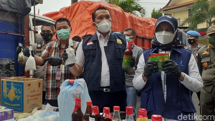 tiga pabrik produksi jamu ilegal digerebek