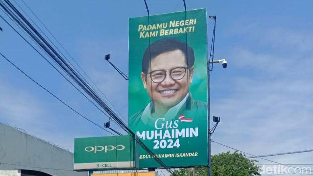 Baliho Muhaimin Iskandar Bertebaran di Jatim, PKB: Road To 2024