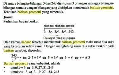 Contoh Soal Barisan Geometri dan Penjelasannya Lengkap