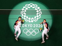 4 Catatan Spesial Greysia/Apriyani Usai Dapat Emas di Olimpiade Tokyo 2020