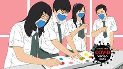 PTM Jadi Klaster di Jateng, Ganjar Minta Sekolah Jangan Asal Ngaku Siap