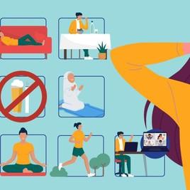 7 Tips Sederhana Kelola Stres Akibat Pandemi