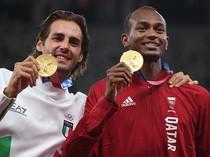 Ini Dua Atlet Lompat Tinggi yang Berbagi Emas di Olimpiade