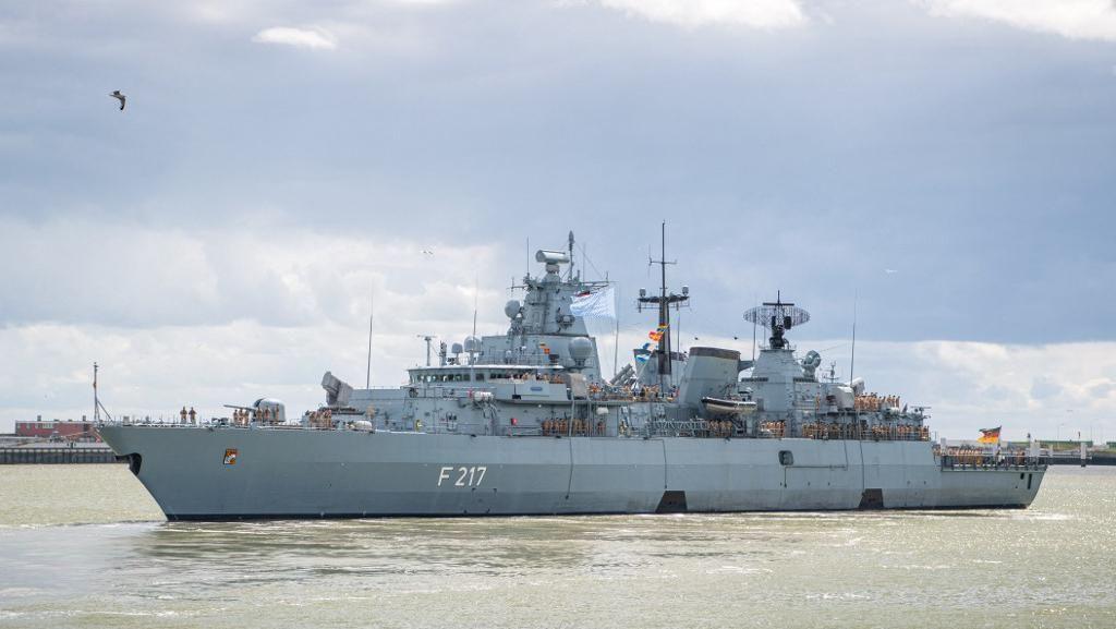 Akan ke Laut China Selatan, Kapal Jerman Ditolak Masuk Pelabuhan China