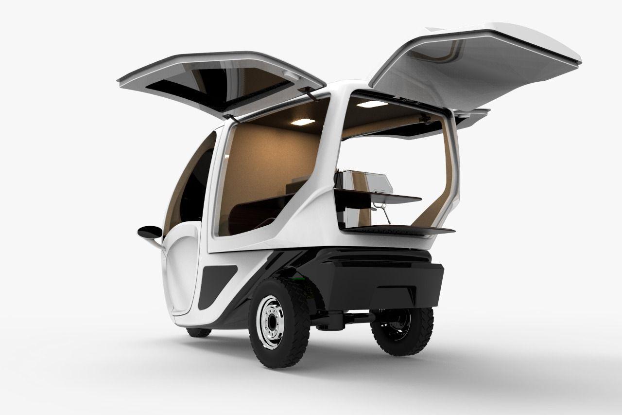 Kendaraan roda tiga listrik PowerAce
