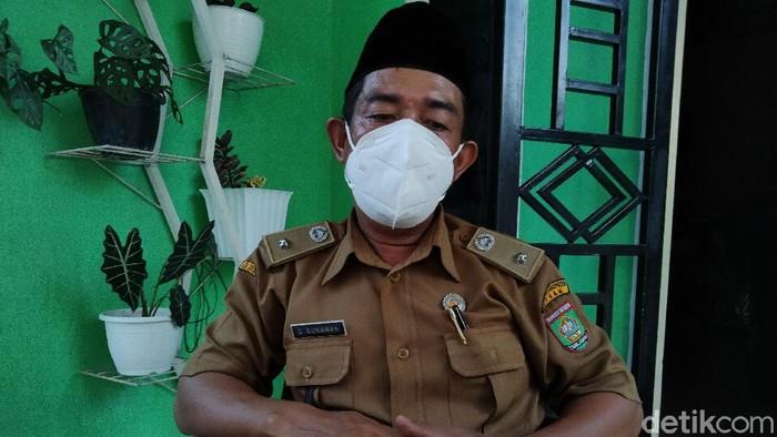 Kepala Desa Serdang, Guntur Gunawan. (Perdana Ramadhan/detikcom)