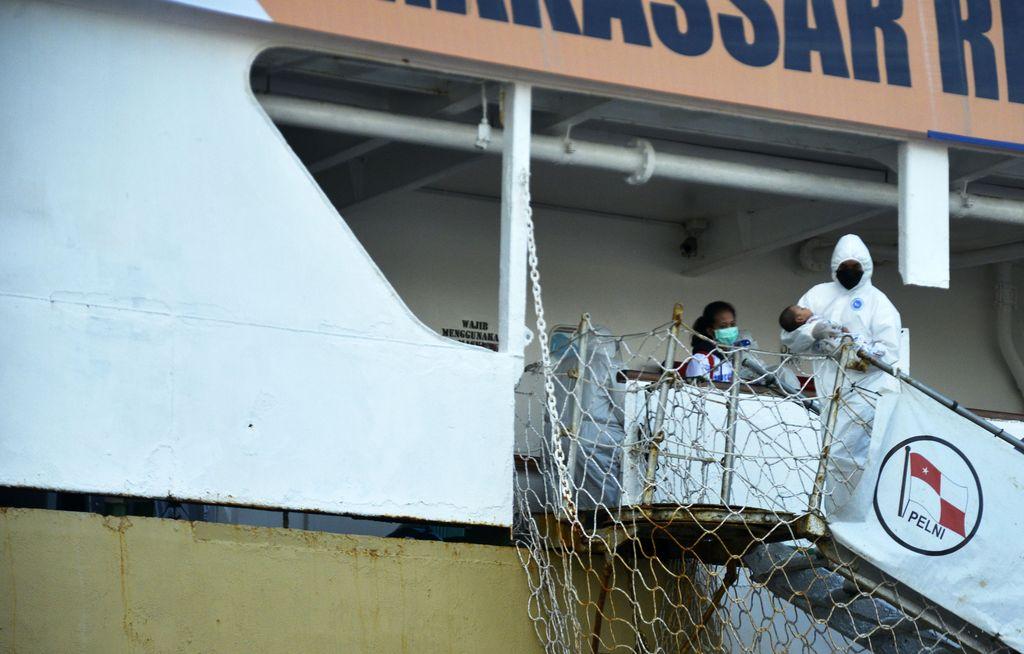 PT Pelni mengubah Kapal Laut Umsini sebagai tempat Isolasi Apung Terpadu untuk Pasien COVID-19. Kapal itu diketahui siap tampung pasien OTG COVID-19.