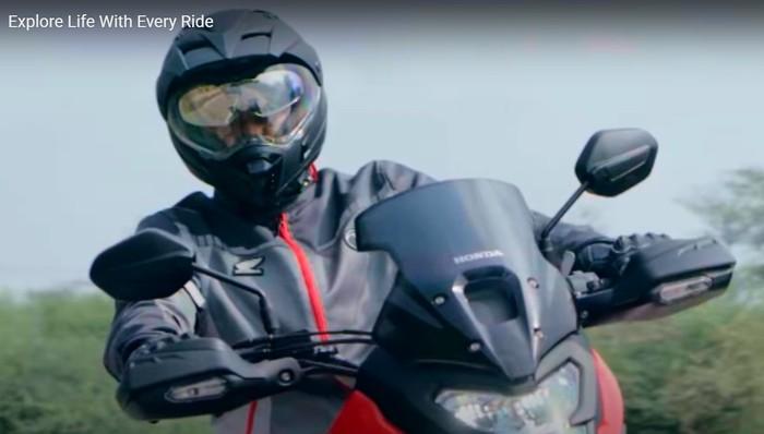 Motor petualang Honda siap diluncurkan di India