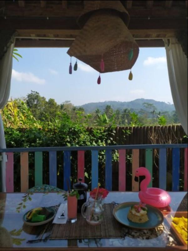Teduhnya pagi di Dusun Klipoh, Magelang.
