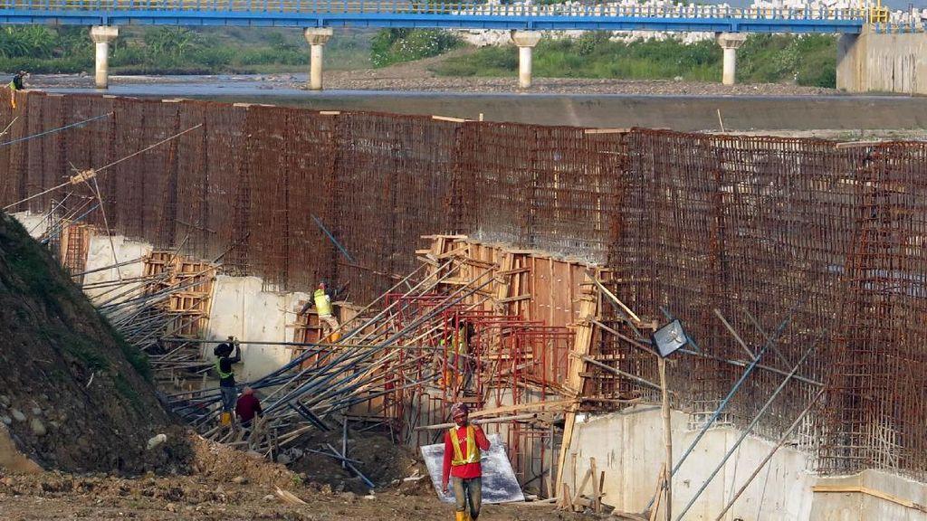 Begini Progres Pembangunan Bendungan Cipamingkis Bogor