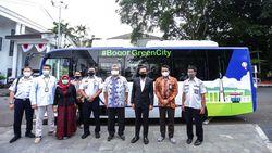 Bus Listrik Gratis Siap Wara-wiri di Kota Bogor Selama 1 Bulan