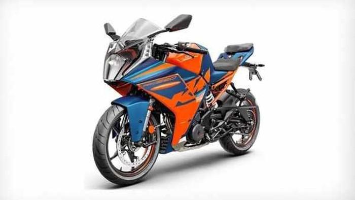 Penampakan KTM RC390 model terbaru