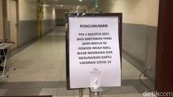 Viral Wajib Sertifikat Vaksin di PIM, Khusus Karyawan atau Pengunjung?