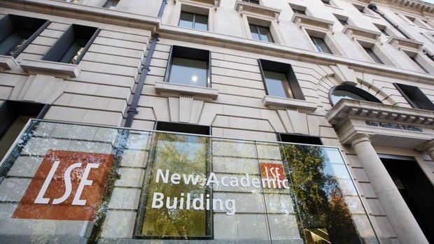 Entrance to the LSE New Academic Building in Lincoln's Inn Fields