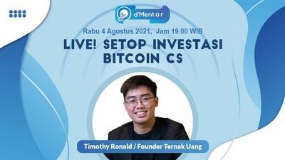 dMentor Setop Investasi Bitcoin Cs