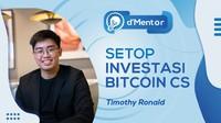 dMentor Nanti Malam : Setop Investasi Bitcoin Cs