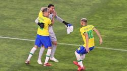 Olimpiade 2020: Brasil ke Final Usai Taklukkan Meksiko Lewat Adu Penalti