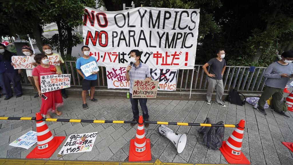 Kasus Corona Melonjak, Warga Berdemo Tolak Olimpiade Tokyo