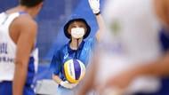 Cerita dari Balik Lensa, Prokes Para Relawan Olimpiade Tokyo 2020
