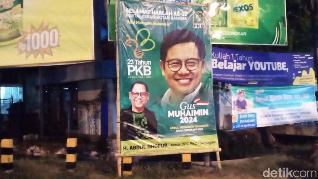 PKB Lamongan Tambah Baliho Muhaimin Iskandar Demi Sosialisasi Road to 2024