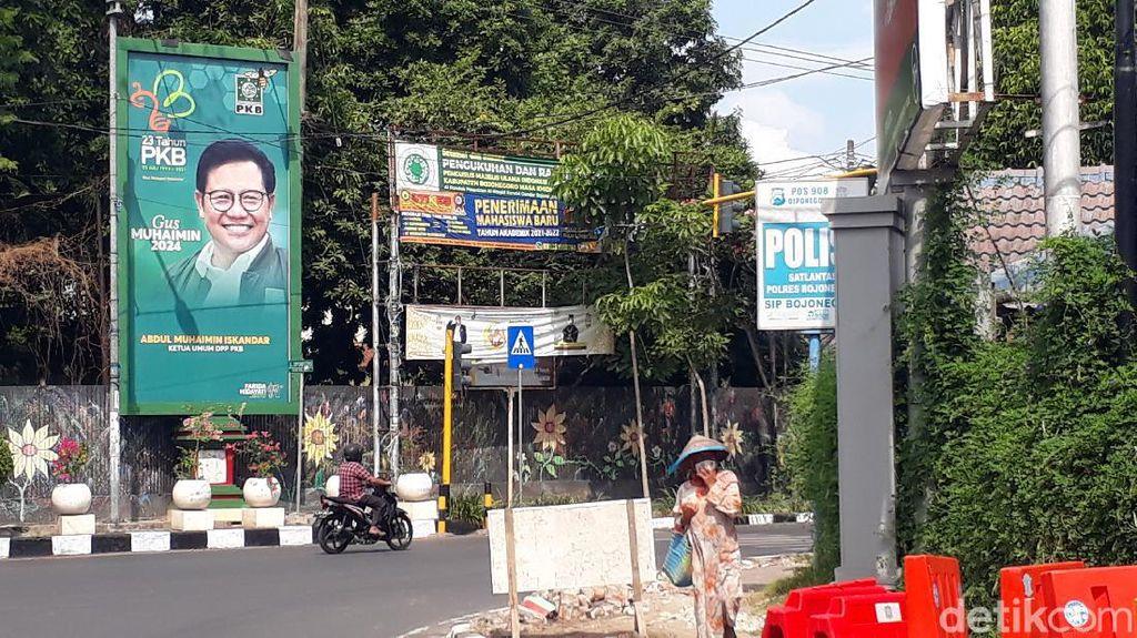 Harapan Kader PKB di Bojonegoro Lewat Baliho Muhaimin Iskandar