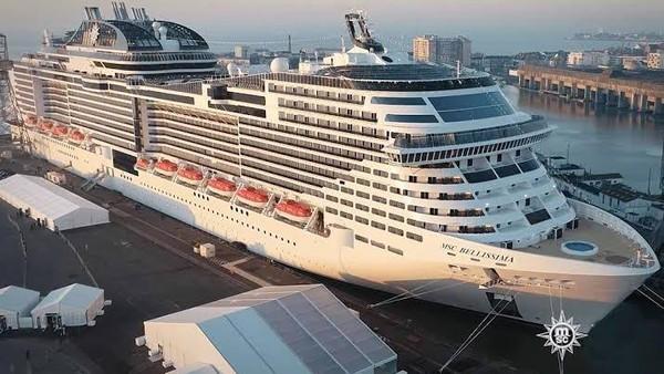 Menurut agen perjalanan, harga untuk naik kapal mewah ini adalah 2.195 riyal Saudi atau sekitar Rp 8 juta. MSC Cruises.
