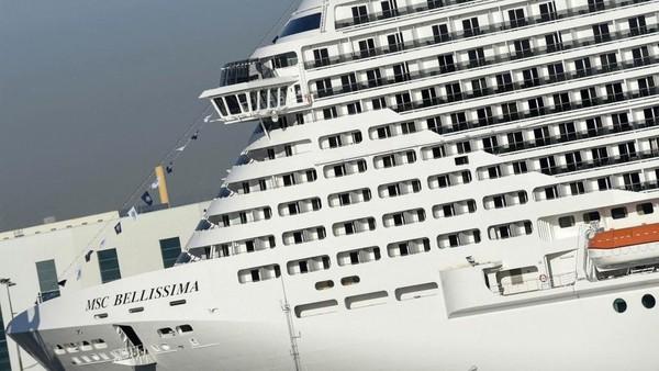 Dana Investasi Publik meluncurkan Cruise Saudi pada Januari tahun ini untuk mengembangkan industri pelayaran di Kerajaan. Salom Gomis/AFP.