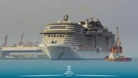 Ini Foto Kapal Pesiar Super yang Berlayar Perdana dari Saudi