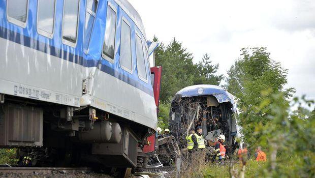 Kecelakaan Kereta di Rep. Ceko