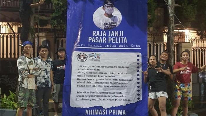 Mahasiswa beri Wali Kota Sukabumi gelar Raja Janji Pasar Pelita