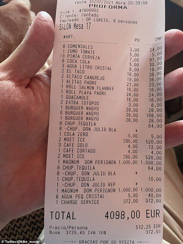 Makan di Restoran Sampai Rp 70 Juta, Pria Ini Dihujat Karena Tak Mau Beri  Tip