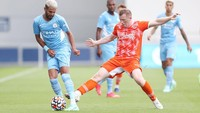 Laga Uji Coba: Manchester City Hajar Blackpool 4-1