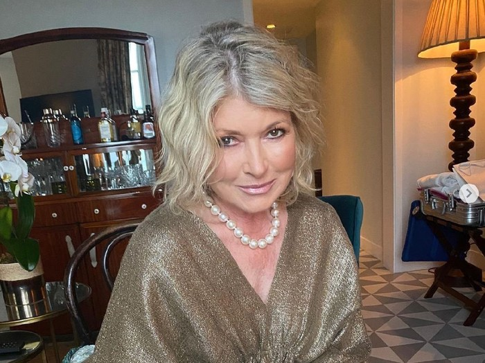 Martha Stewart awet muda di usia 80 tahun.