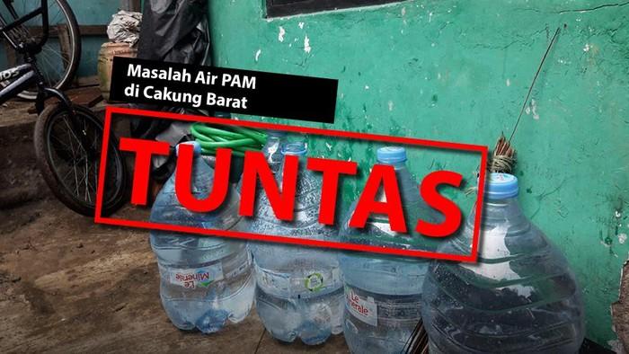 Masalah air PAM di Cakung Barat Tuntas