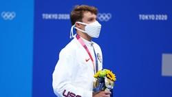 Masker Origami di Olimpiade Tokyo Curi Perhatian, Mirip Bane Musuh Batman